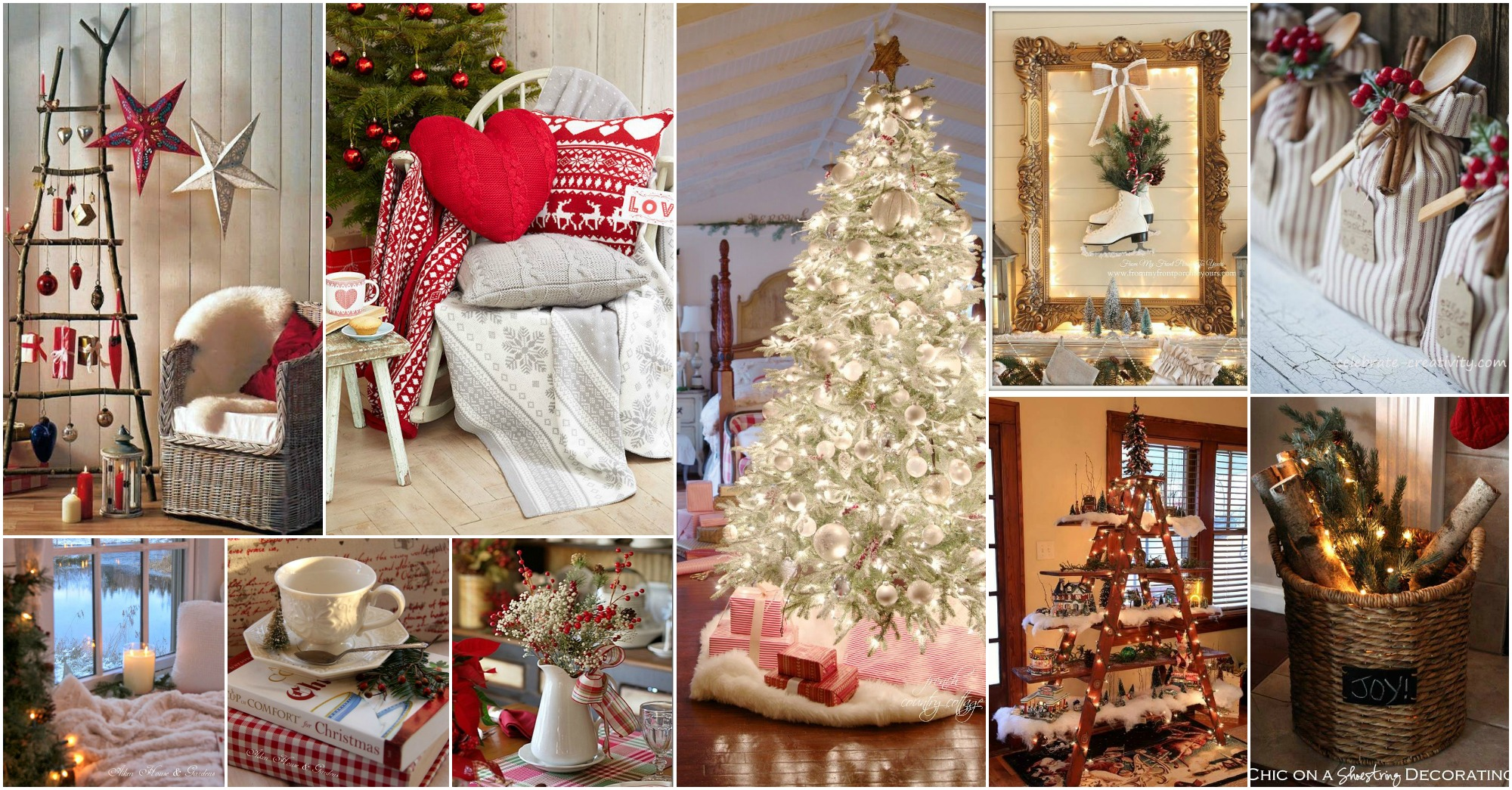 16  Adorable Cozy Cottage New Year Decoration Ideas That You Will     16  Adorable Cozy Cottage New Year Decoration Ideas That You Will Love To  Copy