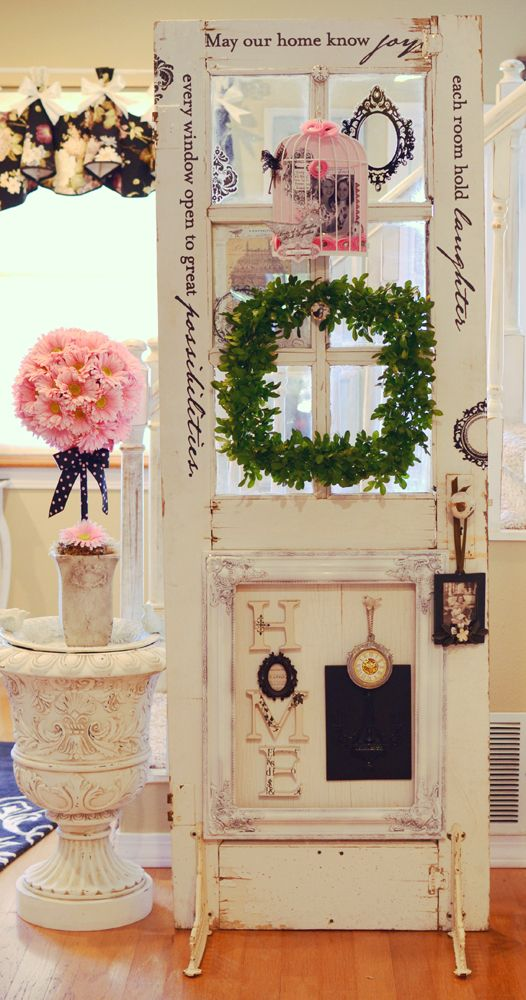 20 Vintage Door Frame Reuse Ideas That You Will Love