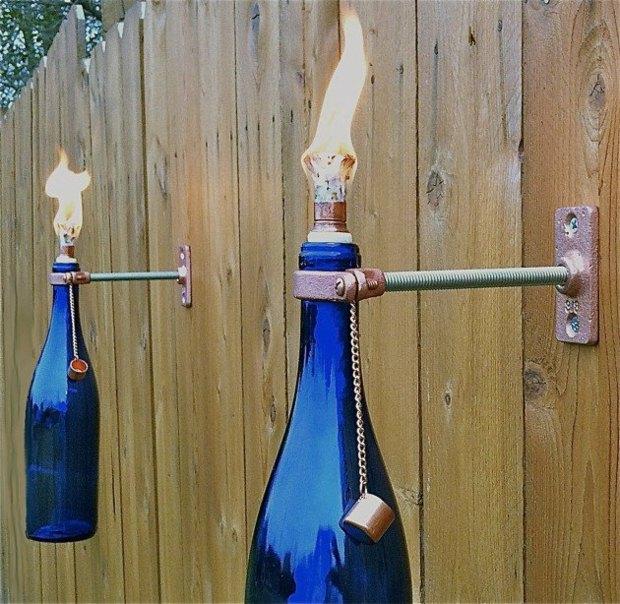 botellas de vino-jardín-decor10