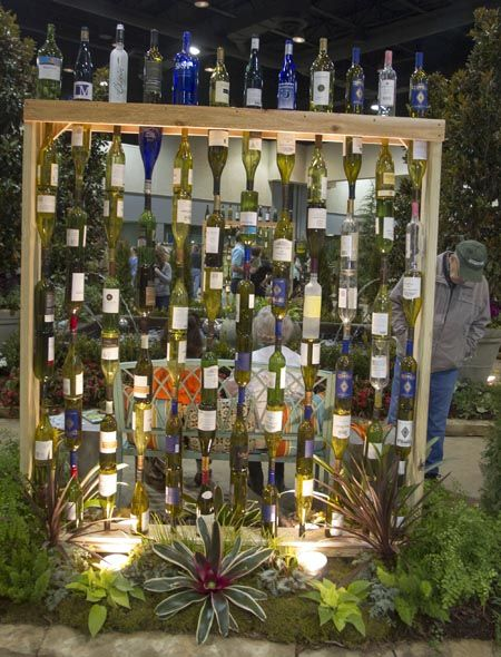 botellas de vino-jardín-decor9