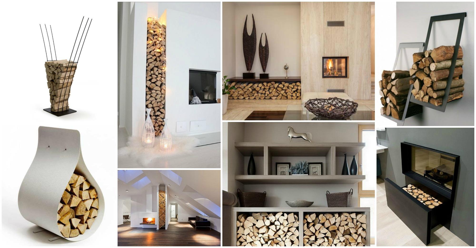 Outstanding Modern Firewood Storage Ideas