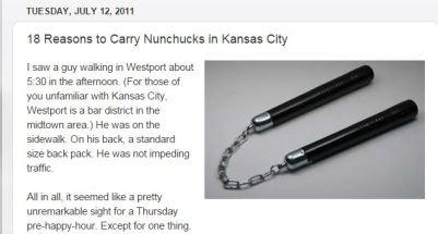 Nunchucks in KC