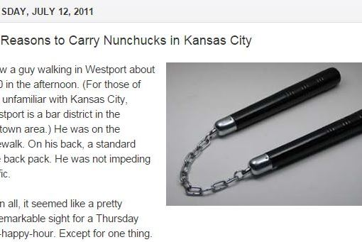 Nunchucks in KC