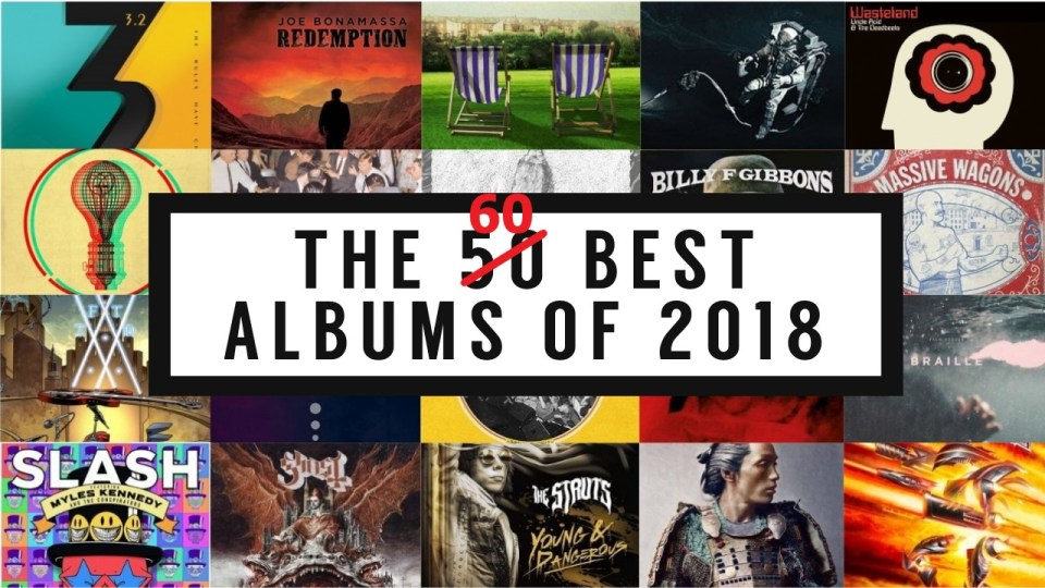 The Best Albums of 2018