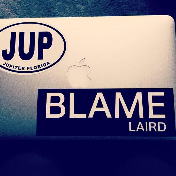 Laird Hamilton blame laird sticker