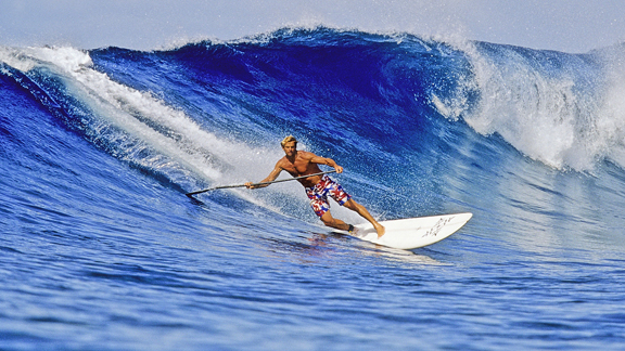 Laird Hamilton surfing