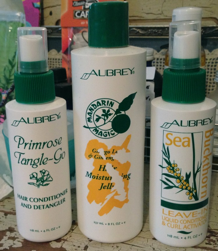 Aubrey Organics Hair Styling Product Review