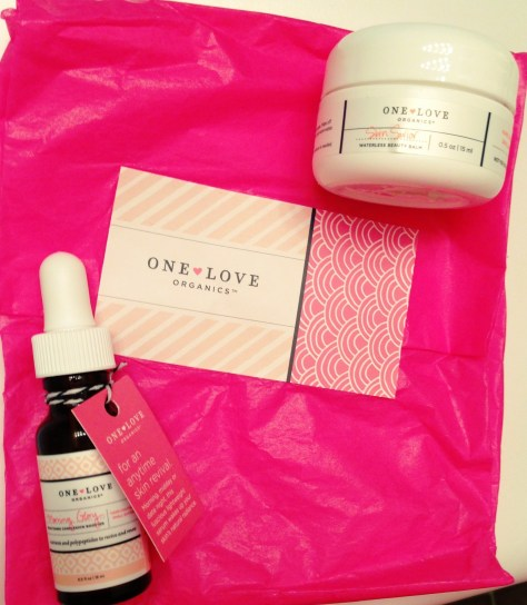 one love organics skin care review