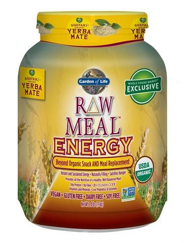 garden of life raw meal energy yerba mate