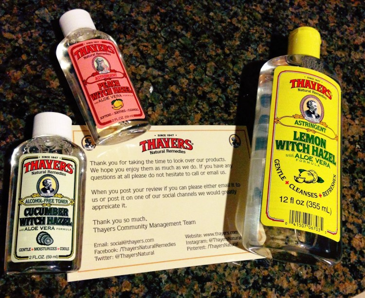 Thayer's Natural Witch Hazel Review