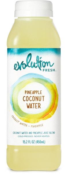 evolution fresh pineapple coconut water
