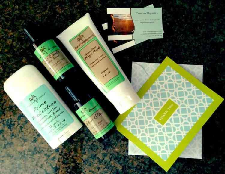 carefree organics skincare review