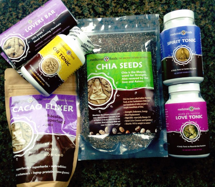 raw superfoods by medicinal foods
