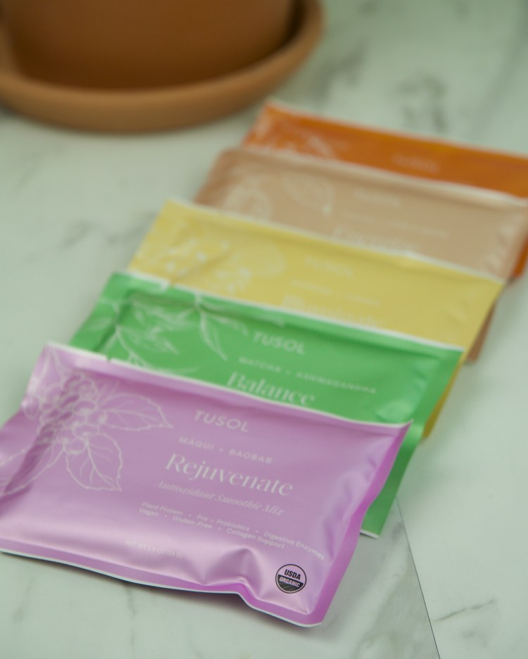 tusol wellness smoothie packets