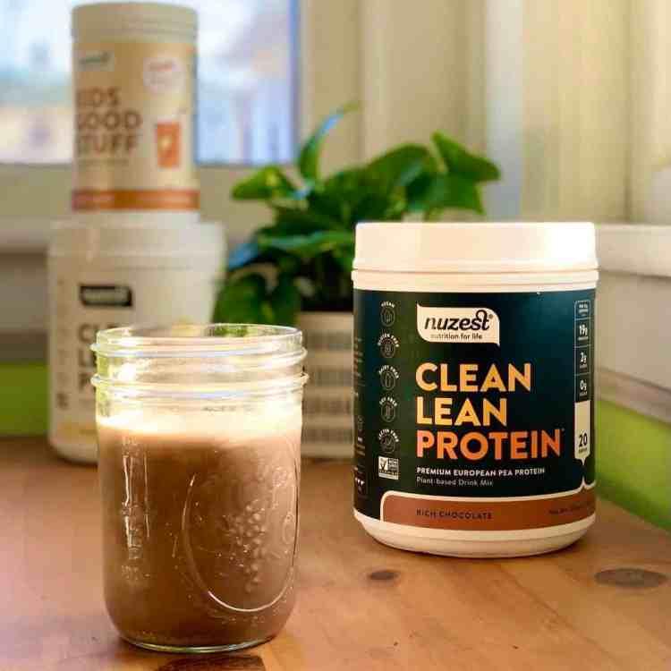nuzest clean lean protein coffee