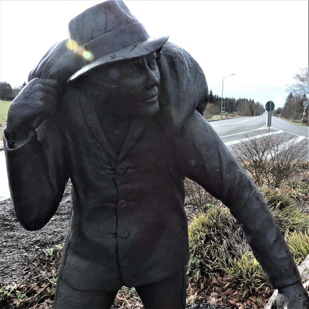 Statue de Der Schmuggler