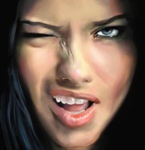 Η Adrian Lima είναι ένα διάσημο κορίτσι μοντέλο που του αρέσει πολλοί άνδρες