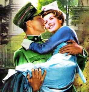 Ο στρατιώτης πρόκειται να πει τη νοσοκόμα ότι την αρέσει