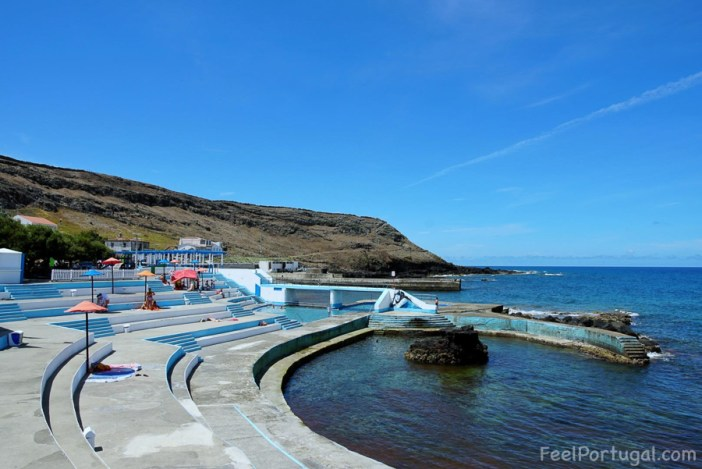 Sunbathing area in Anjos, Santa Maira Island, Azores. (Photo: Diane Fontes/FeelPortugal.com)