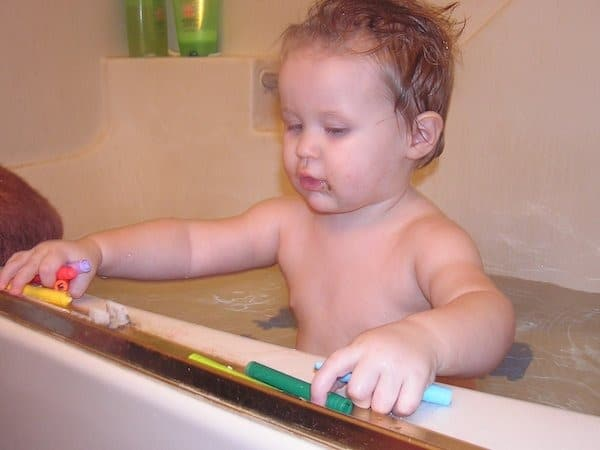 how to make bath crayons