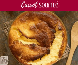 How to make the best simple and easy carrot soufflé - This recipe is sweet and could be used as a side dish or a dessert!