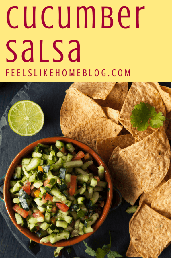salsa with lime and chips