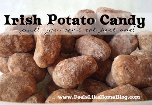 Irish Potato Candy Recipe And Other St Patrick S Day Fun