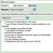 How to Make a Meal Plan with Google Calendar