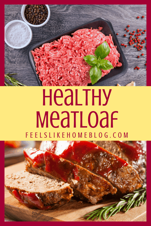 sliced meatloaf and ground beef