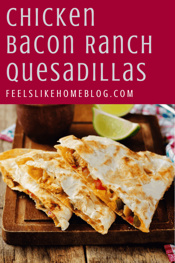 A quesadilla sitting on top of a wooden table