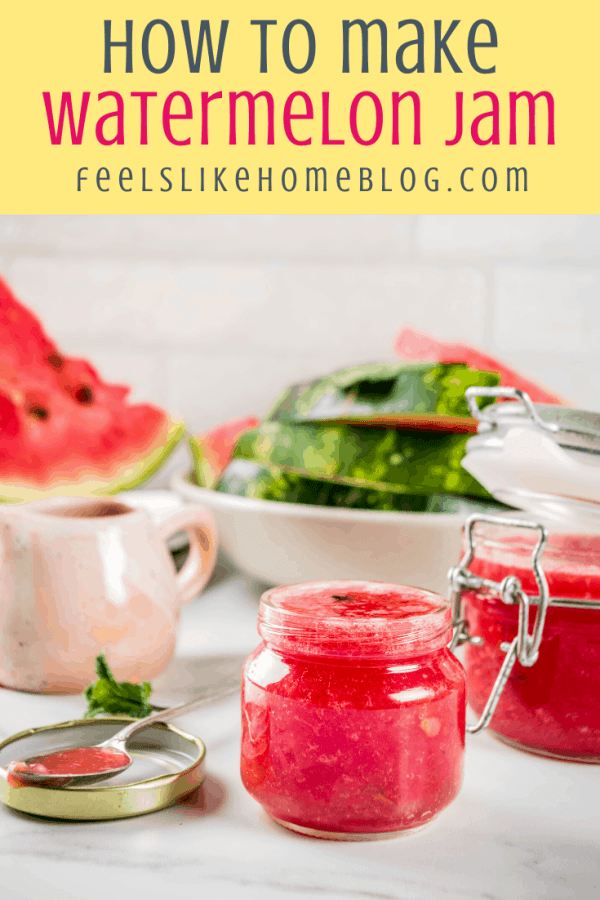homemade watermelon jelly