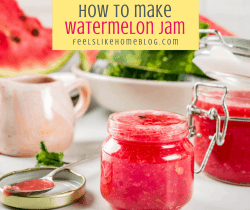 jam in a jar with words