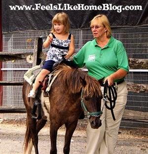 Pony Ride at the Philadelphia Zoo