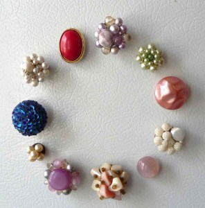 jeweled magnets