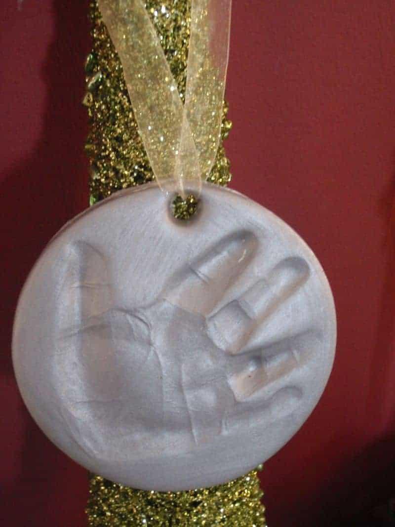 Foam Clay Hand Painted Three Eyed Alien