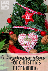 6 inexpensive ideas for holiday entertaining - These 6 tips and ideas are great! Including fun things to do on a budget with kids or the whole family, these will keep you under budget - maybe even with money left over!