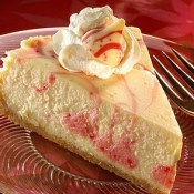 Candy Cane Swirl Cheesecake