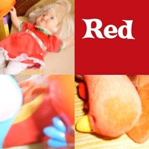 Photos of red items