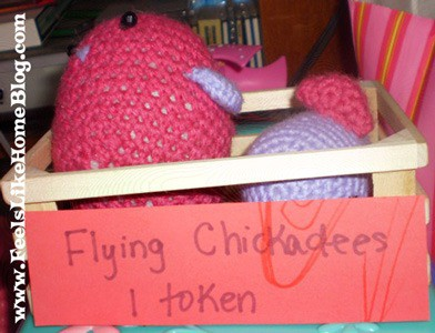 Flying Chickadees at our Carnival