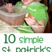 St. Patrick's Day Activities for Preschoolers