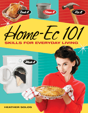 Home Ec 101 Book - Affiliate Link