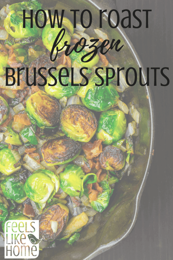 how to roast frozen brussels sprouts