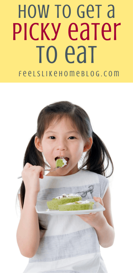 a young girl who is not a picky eater