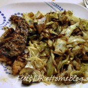 Balsamic Chicken with Mushrooms & Cabbage – New & Improved – featuring a $100 giveaway