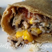 Quick and Easy Black Bean Burritos