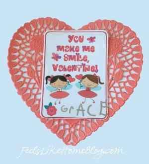 printable valentine card