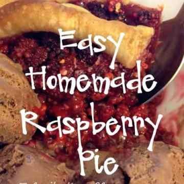 Easy Homemade Raspberry Pie Recipe