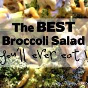 The Best Broccoli Salad Recipe (and a $50 giveaway)