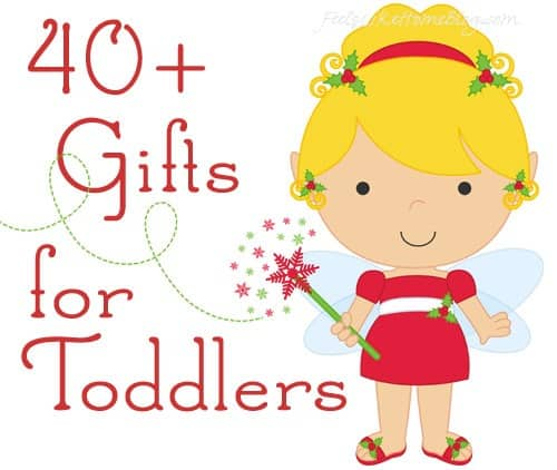 40+ awesome & unique Christmas gift ideas for girls who are 1, 2, or 3 years old - These fun ideas are sure to please the little girls in your life! There is something on this list for every girl for the holidays or even for birthdays - educational, toys, books, and more!