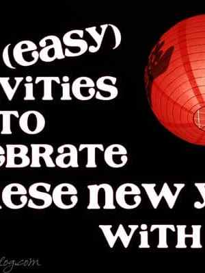 Chinese New Year Activities for Kids